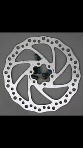 New 160mm 6 bolt Bicycle Disc Brake Rotors Vented Mountain Bike