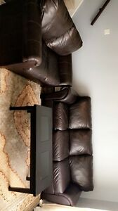 Real leather sofas for sale $699
