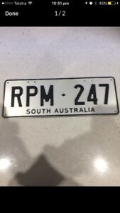 RPM 247 - R SERIES NUMBER PLATES Angle Vale Playford Area Preview