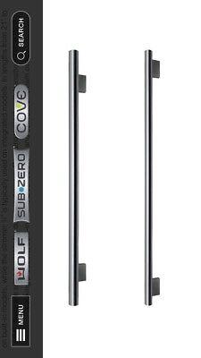 SUB ZERO DOOR HANDLES # SEE BELOW STAINLESS STEEL 2 SIZES, REFRIGERATOR.