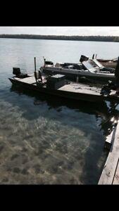 Bass jon boat