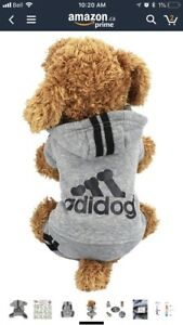 Two Adidog one-piece tracksuit