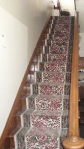 Stairs/Hallway Carpet Runner 25 feet,10 inches