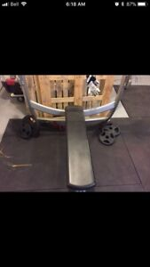 Work out bench only * commercial grade gym quality weight bench