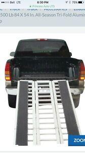 Tri-Fold Aluminum Ramp