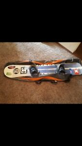 Snow board combo with board bindings and boots