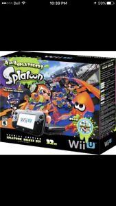 Looking for Splatoon Wii u.