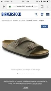Men's Birkenstocks size 42