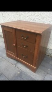 Wooden Storage/filing cabinet