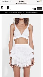 Sir the label Dylan ruffle short 0