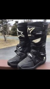 Alpine starts dirt bike boots
