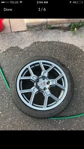 "BRAND NEW 18"" winter tires and rims Hyundai Genesis coupe"