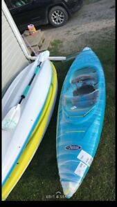 Teal pelican juno kayak. BRAND NEW plus paddle