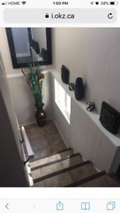 Room for rent in two bedroom apartment near Brock