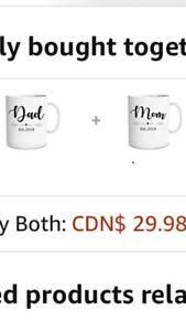 MOM & DAD 2018 11 oz COFFEE MUGS