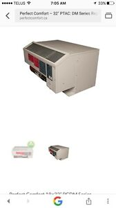 A/c with heater wall unit