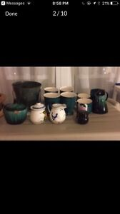 Dishes-silverware-cups-mugs-pots and pans-bowls