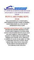 Power Sports Show and Swap Meet