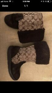 Very good condition coach boots size 7