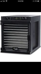 Food dehydrator Sedona Express with stainless steel shelves