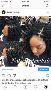 Box braids Crochet braids & more 647 460 5095