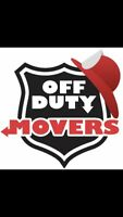 OFF-DUTY MOVERS!!
