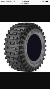 Wanted 2 quad tires 25x13.00-9