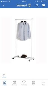 Brand New Garment Rack Wheel Casters for Portability