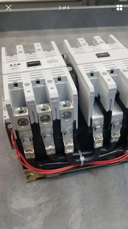 Eaton/Cutler Hammer CE55NN3A Reversing Contactor Size N 110-120 Volts Coil New
