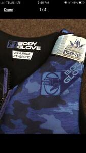 Men's 2xl BRAND New Life jacket- tags still on Body Glove brand