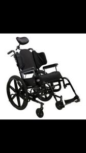 Tilt - wheel chairs