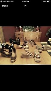 7 pairs women's shoes
