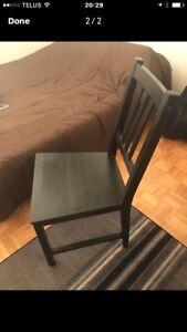 SET OF IKEA CHAIRS (2)
