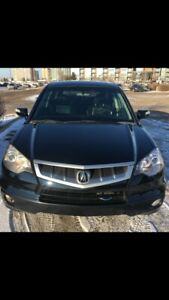 2007 Acura RDX all-wheel-drive tech package.