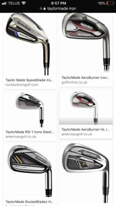 Wanted :  Taylormade Iron set Right hand