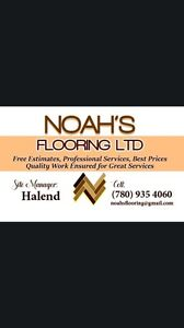 Hardwood, laminated, engineers, vinyl flooring installing  Edmonton Edmonton Area image 1