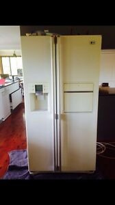 LG side by side fridge freezer with water and ice function Buderim Maroochydore Area Preview