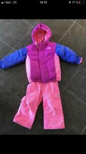 Habit de neige North Face 2ans / 2T