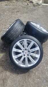 "18"" Alloy Rims and Run Flat Tires"