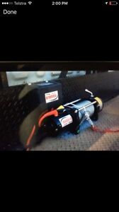 9500 lbs electric winch Raceview Ipswich City Preview