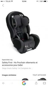 Siège auto safety first