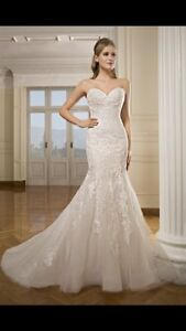 Cosmobella wedding dress size 8