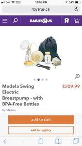 Madela swing breast pump brand new never used