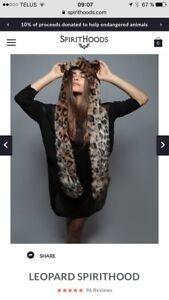 Tuque léopard