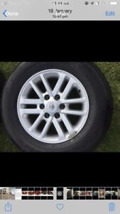 TOYOTA HILUX SR5 ALLOY WHEEL WITH TYRE AND CENTRE CAP Angle Vale Playford Area Preview