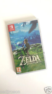 BNIB-The-Legend-of-Zelda-Breath-of-the-Wild-Nintendo-Switch-NEW-amp-SEALED