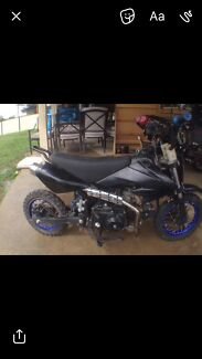110 cc pitbike - semi auto 4 gears
