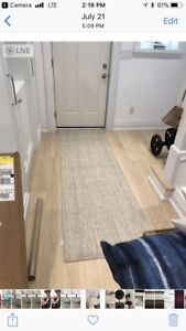 Brand new crate and barrel rug