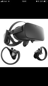 Oculus Rift plus touch VR
