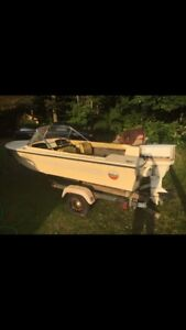 Wanted Boat Engine, or will sell boat for right price